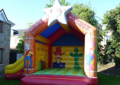 Crazy Cowboy Combi Castle
