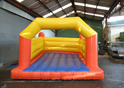Ratoath Bouncing Castles Red & Blue Boxing ring