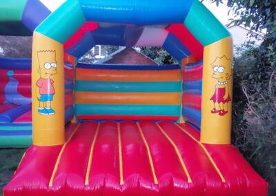 Ratoath Bouncing Castles Simpsons Bouncy Castle 11x13