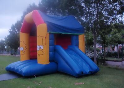 Ratoath Bouncing Castles Simpsons Combi Castle
