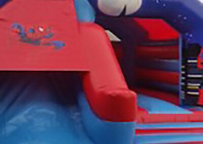 Ashbourne Bouncy Castles Spider Man Combi