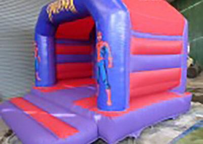 Ashbourne Bouncy Castles Spiderman Castle