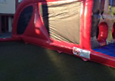 Ashbourne Bouncy Castles Super Hero Bouncy Obstacle Course