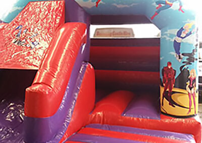 Bouncing Castles Dubshaughlin Super Hero Combi