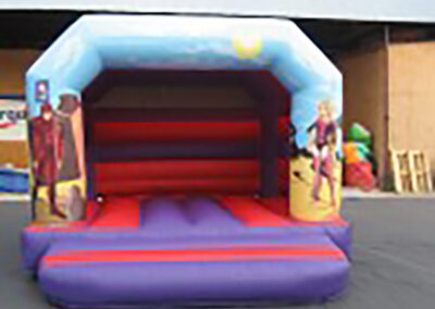 Bouncing Castles Dubshaughlin Super Slide 10ft Platform Super Hero's